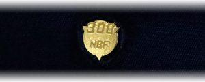 NBF 褒章バッチ