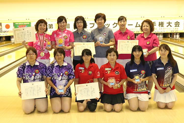 関東ブロックチーム選手権女子入賞