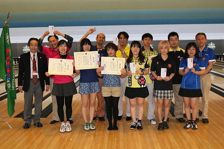 2017年東京都ミックスダブルス大会入賞チーム